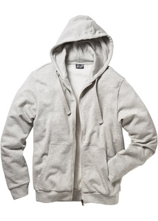 Трикотажная куртка стандартного покроя с капюшоном Bonprix