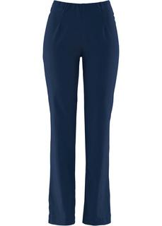 Прямые брюки стретч без застежки Bonprix
