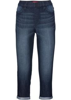Капри стрейчевые джинсовые Bonprix