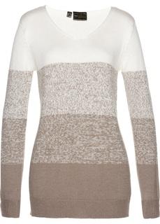 Пуловер с кашемиром Bonprix