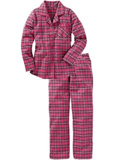 Фланелевая пижама Bonprix