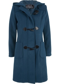Шерстяное пальто с капюшоном Bonprix