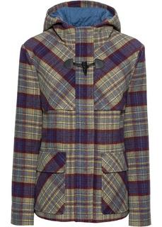 Куртка-дафлкот с долей шерсти Bonprix