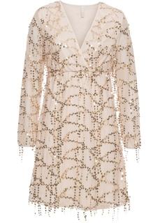 Платье с пайетками Bonprix