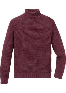 Пуловер Regular Fit с высоким воротом Bonprix