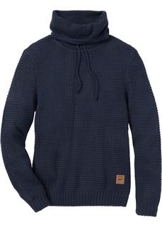 Пуловер Regular Fit с высоким воротником Bonprix