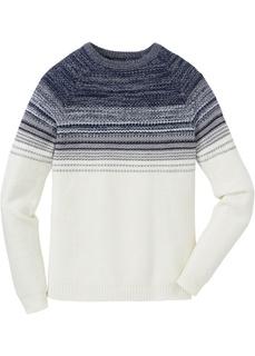 Пуловер градиентной расцветки Regular Fit Bonprix