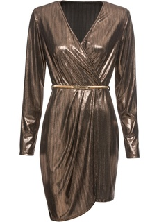 Платье коктейльное с ремнем Bonprix