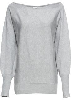 Пуловер с вырезом-лодочкой Bonprix