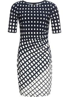Мини-платье с графичным узором Bonprix