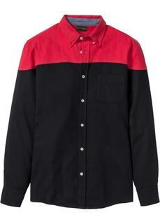 Рубашка Slim Fit с длинным рукавом Bonprix