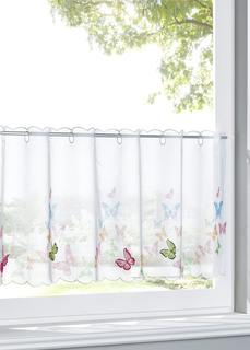 Кухонная штора Бабочки Bonprix