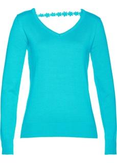 Пуловер с вырезами Bonprix