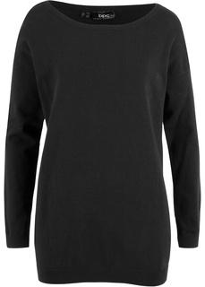 Пуловер прямого покроя Bonprix