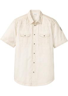 Рубашка с коротким рукавом, вареная расцветка Bonprix