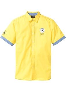 Рубашка с коротким рукавом и принтом Bonprix