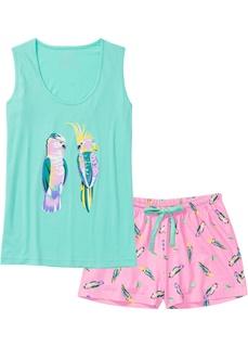 Пижама с шортами Bonprix