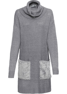 Пуловер удлиненного покроя Bonprix