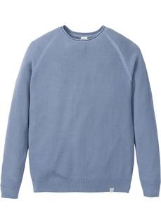 Пуловер со структурным узором Bonprix