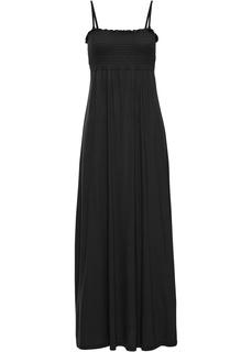 Платье в пол с присобранным лифом Bonprix