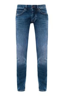 Синие джинсы зауженного кроя Strellson