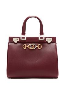 Компактная бордовая сумка Zumi Gucci