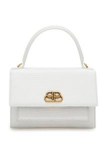 Белая мини-сумка Sharp XS Balenciaga