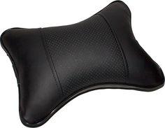 Автомобильная подушка DolleX, АВТОЛГ_553, черный, 30 х 21 см