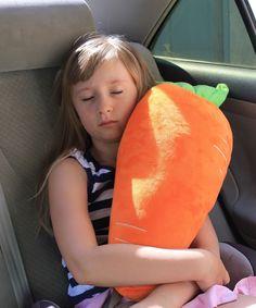 Накладки на ремни Клювонос Подушка на ремень безопасности, оранжевый