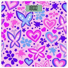 Напольные весы Scarlett SC-BS33E092, Butterfly And Heart