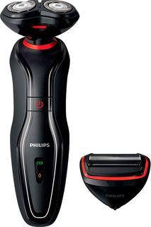 Электробритва Philips S728/17, красный, черный