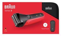 Электробритва Braun Series 3 300ts, 81645101, Red + чехол