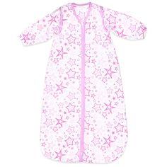 Спальный мешок для новорожденных GlorYes!, розовый, белый 9/36мес размер