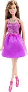 Barbie Кукла Шатенка Сияние моды цвет платья фиолетовый