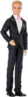 Barbie Кукла Жених Кен цвет костюма черный