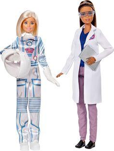 Barbie Набор кукол Astronaut & Space Scientist