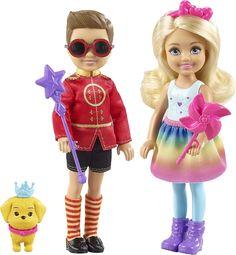 Barbie Игровой набор с куклой Челси и Нотто