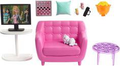 """Мебель для кукол Barbie """"Отдых дома"""", FXG33_FXG36"""