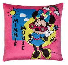 """Подушка-перевертыш Disney """"Минни Маус Дисней"""", цвет: розовый, мультиколор, 36 х 36 см. 16403"""