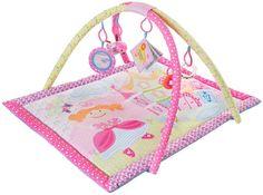 """Развивающий коврик Мир Детства """"Принцесса"""", 27134, розовый, 90 х 66 см"""