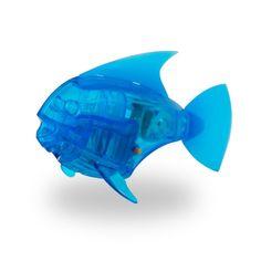Игрушка для ванной HEXBUG Рыбка-робот светящаяся 460-2976 синий
