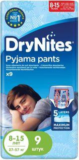 Huggies Подгузники-трусики для мальчиков DryNites 8-15 лет 9 шт