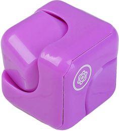 """Кубик антистресс """"Спиннер"""", 2554395, фиолетовый"""