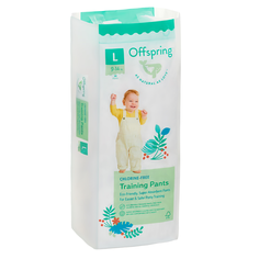 Подгузники-трусики Offspring L 9-14 кг. 36 шт. расцветка Рыбки