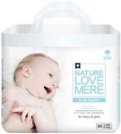 Nature Love Mere Подгузники-трусики Slim Premium от 8 кг 30 шт