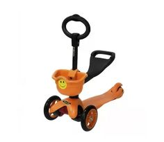 Самокат Smiley Mini, оранжевый