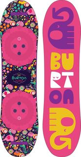 Сноуборд для девочки Burton Chicklet, длина 80 см