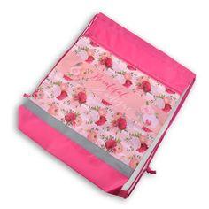 """Сумка-мешок для сменной обуви, """"Pink dream"""", 41,5*34 см, BG, МО2_пэ 4596 BG®"""