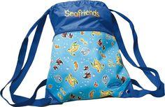 Мешок для сменной обуви Schneiders Seafriends, 49545-070, голубой