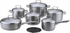 Набор посуды Bekker DeLuxe, 13 предметов